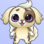 Blockchain Cuties dog