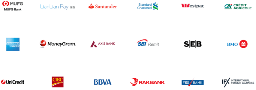 Ripple clients: Credit Agricole, Santander, UniCredit, MoneyGram, American Express