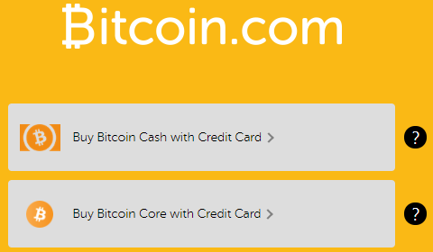 Buy Bitcoin (BTC) or Bitcoin Cash (BCH)